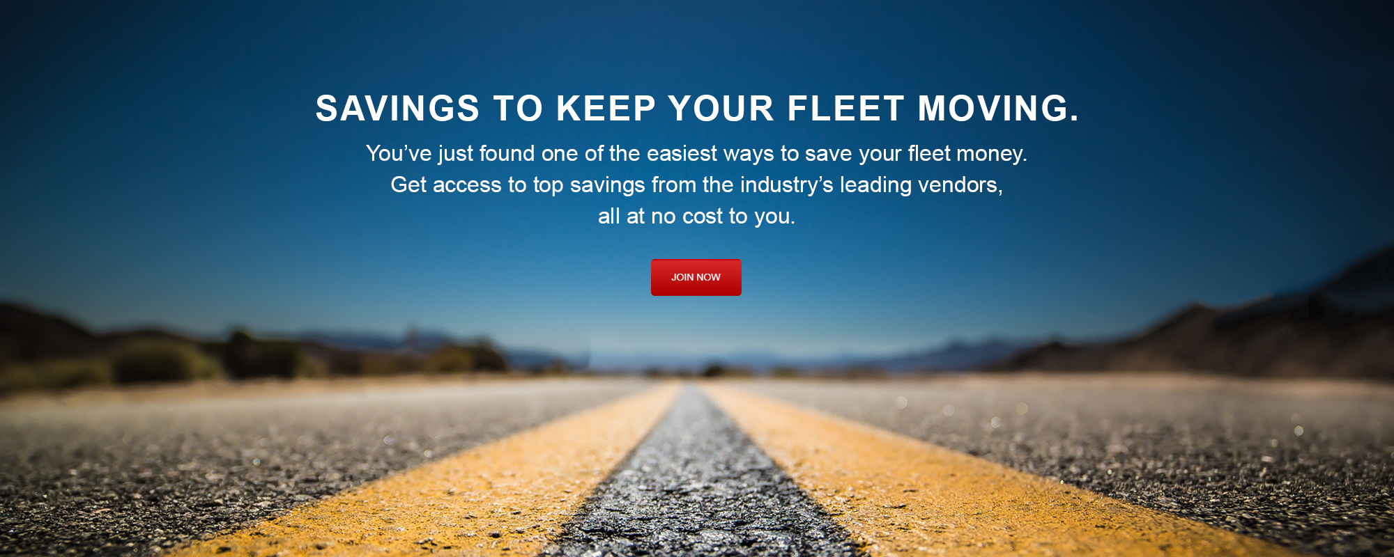 Keep your fleet moving