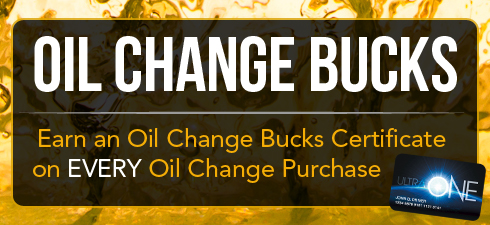 Earn oil change bucks certificates at TA/Petro