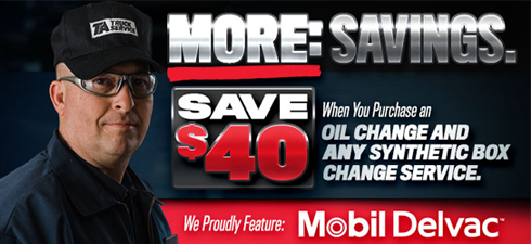 Check out these great Preventive Maintenance Promotions with TA Truck Service