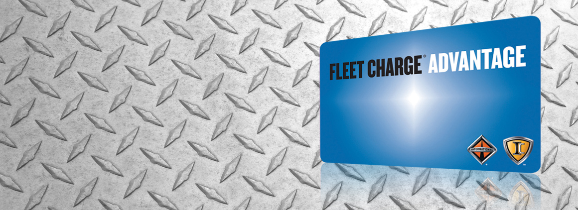 Save on parts with Fleet Charge Advantage
