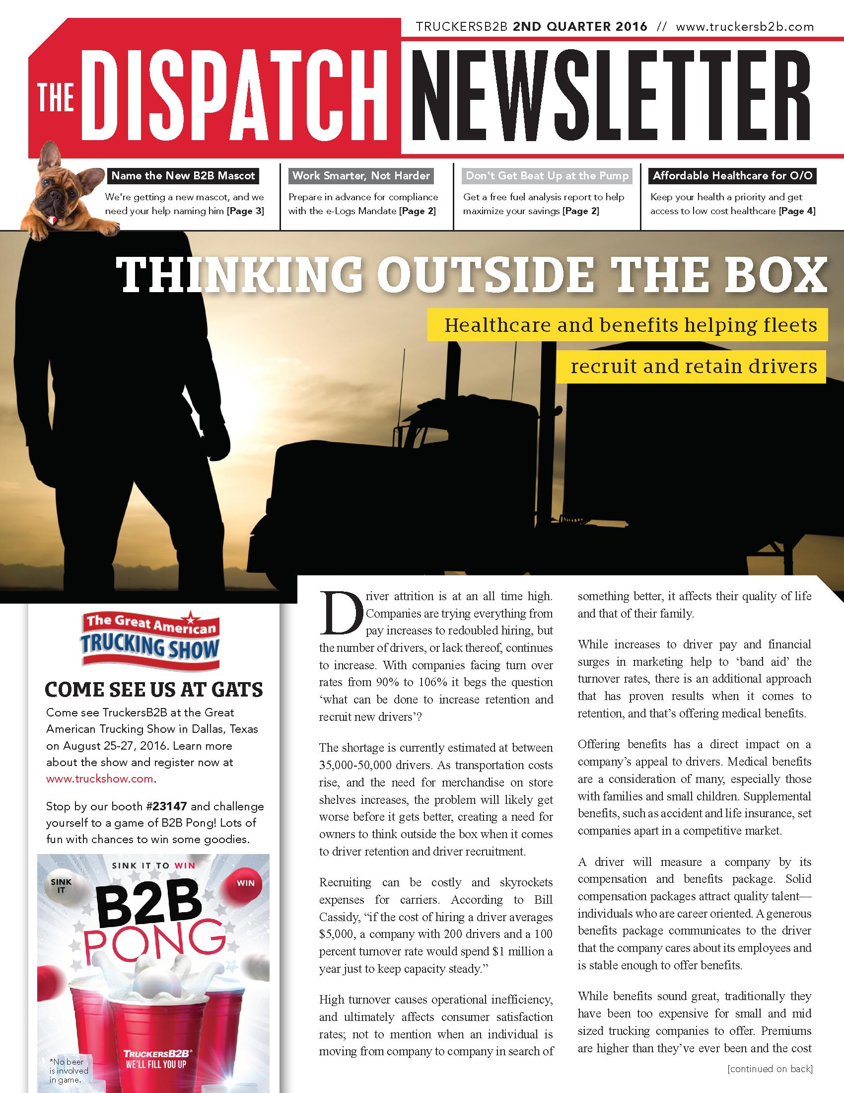truckersb2b newsletters